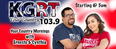 Ernesto & Cynthia 5AM - 10AM